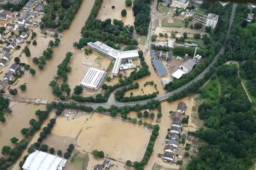 El antes y después de las impresionantes inundaciones en Europa  (fotografías interactivas)   Noticias Univision Mundo   Univision