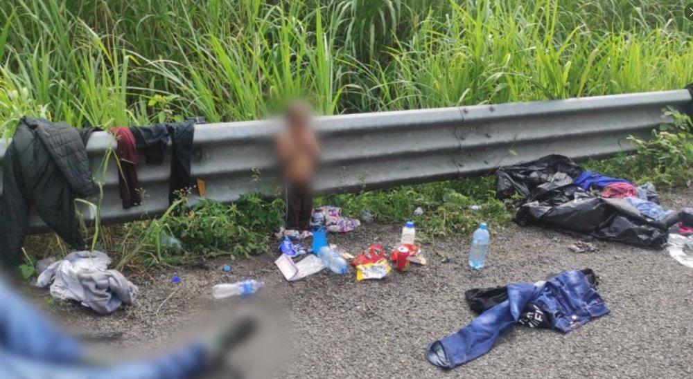 Un niño de dos años es abandonado en una carretera al sur de México    Noticias Univision América Latina   Univision